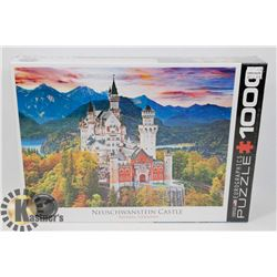 NEW 1000PC NEUSCHWANSTEIN CASTLE PUZZLE