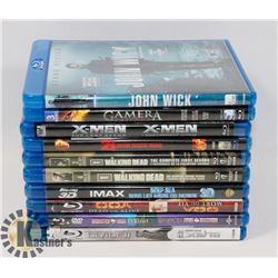 BUNDLE OF BLURAY MOVIES AND TV SERIES INCLUDING