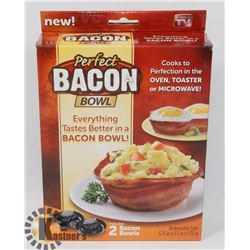 NEW PERFECT BACON BOWL KITCHEN GADGET