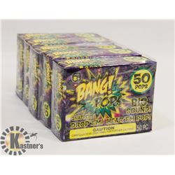 5 NEW PACKS OF BANG! POPS / 50 PER PACK 250 TOTAL