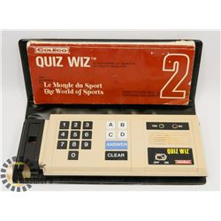 1970S COLECO QUIZ WIZ HANDHELD VIDEO GAME