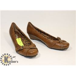 DE BLOSSON COLLECTION BROWN SZ 10