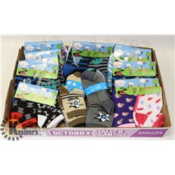 NEW KIDS SOCKS 40 PAIR TODDLER