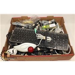 FLAT OF ASSORTED ELECTRONICS INCLUDING POWER