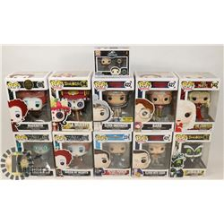 LOT OF 10 POP VINYLS, STRANGER THINGS BARB,