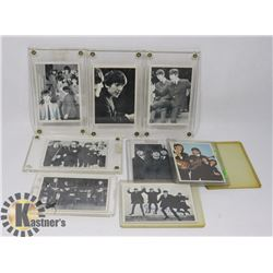 8 TOPPS BEATLES CARDS