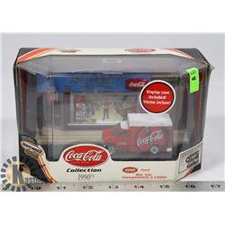 COCA COLA 1998 FORD COLLECTOR BOX VAN