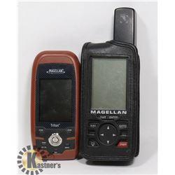 2 MAGELLAN GPS AA POWERED