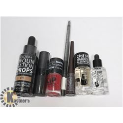 BAG OF NEW GOSH MAKE-UP WITH VARIOUS TYPES, STYLES