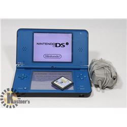 NINTENDO DSIXL WITH CHARGER AND GAMES