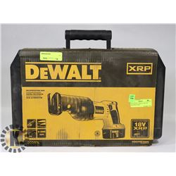 NEW DEWALT XRP DC 385K 18V RECIPROCATING SAW