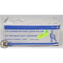 JET 10-2 SERIES RATCHET LEVER PULLER 3/4 TON