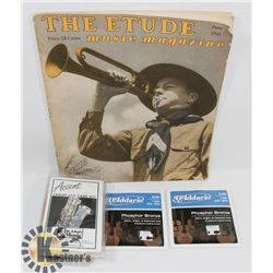 "VINTAGE ""THE ETUDE"" 25 CENTS"