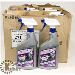CASE OF 10 KLEEN-FLO CARPET KLEEN WITH STAIN