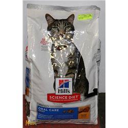 SCIENCE DIET CAT FOOD ORAL CARE 15.5LBS