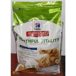 SCIENCE DIET CAT FOOD YOUTHFUL VITALITY 13LBS