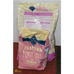 2 BAGS OF BLUE BUFFALO SMALL BREED DOG FOOD -