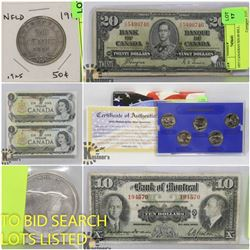 FEATURED CURRENCY & COLLECTIBLES