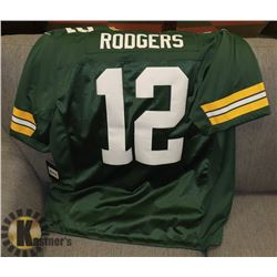 AARON RODGERS JERSEY NEW 2XL.