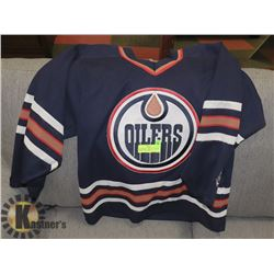 OILERS JERSEY OFFICIAL LICENSED JERSEY ADULT SMALL
