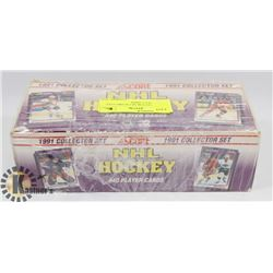 1991 COLLECTOR SET SCORE FULL SET HOCKEY CARDS