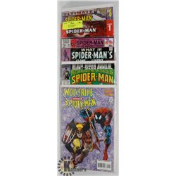 BUNDLE OF SPIDERMAN COLLECTORS COMICS