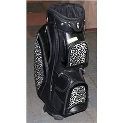 NEW NANCY LOPEZ LADY'S GOLF BAG W/SIDE COOLERS