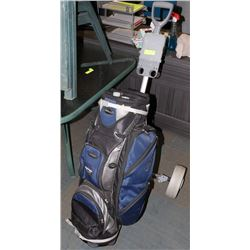 WILSON POLAR GOLF BAG & CART