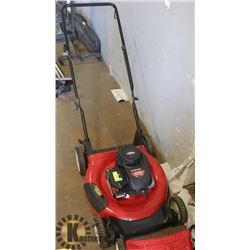 YARD MACHINE LAWN MOWER GAS POWER