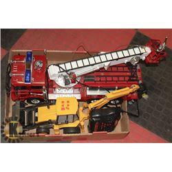 FAST LANE RC REMOTE CONTROL FIRE TRUCK PUMPER,