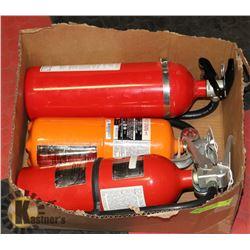 LOT OF 3 X 5LBS FIRE EXTINGUISHERS