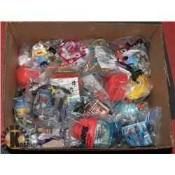 BOX OF MCDONALDS HAPPY MEAL TOYS
