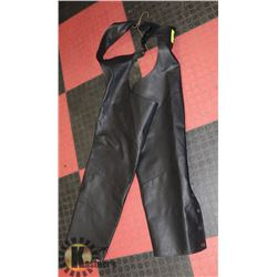 SHELL LEATHER CHAPS X-LARGE