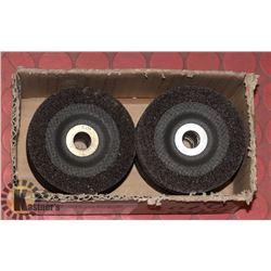 """BOX OF 4"""" X 1/4 GRINDING DISCS 20 TOTAL"""