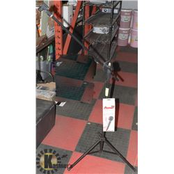 NEW RECOTON MIC WITH PROFESSIONAL MIC STAND