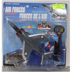 NEW AIR FORCE BATTERY OPERATED PILOT FIGHTER