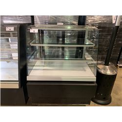 3 TIER GLASS REFRIGERATED PASTRY SHOWCASE