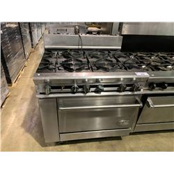 DCS COMMERCIAL GRADE 6 BURNER STOVE GAS, WITH OVEN