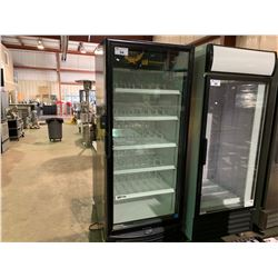 5 SHELF COMMERCIAL IMBERA BEVERAGE COOLER WITH GLASS FRONT