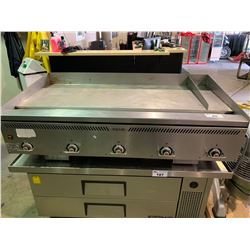 "LARGE INDUSTRIAL VULCAN 60""WX32""DX16""H GRIDDLE"