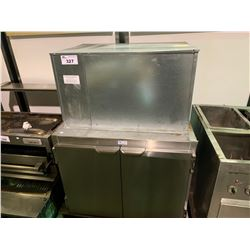 STAINLESS STEEL REFRIGERATION UNIT AND COOLER