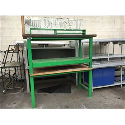 2 GREEN WORKBENCHES
