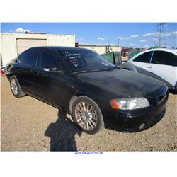 2008 - VOLVO S60 //SALVAGE TITLE