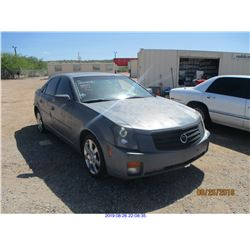 2007 - CADILLAC CTS//RESTORED SALVAGE TITLE