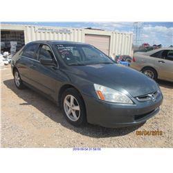 2005 - HONDA ACCORD