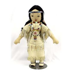 Native American Plains Indian Cloth Doll