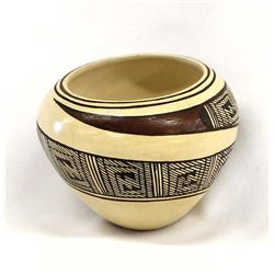 Hopi Pottery Bowl by Delaine Tootsie-Chee