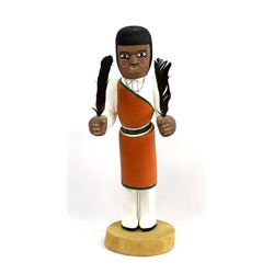 Native American San Juan Doll by Allan Maestas