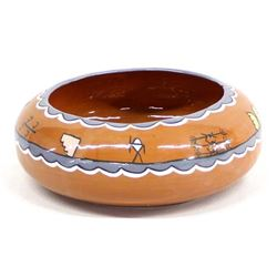 Native American Pamunkey Pottery Bowl by Pale Moon