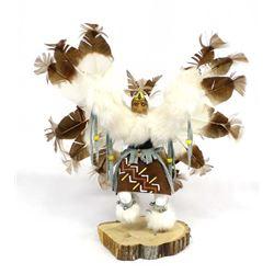 Native American Navajo Eagle Kachina, V. Begay